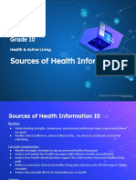10 sources of health information