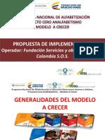 2.1.- ANEXO 7 GENERALIDADES DEL MODELO A CRECER
