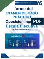 Ex Caso Práctico 2017 Inspector Tl Informe
