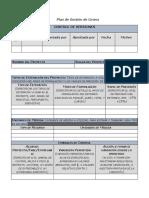 4. FORMATO Plan de Gestión de Costos