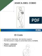 Clase 7 Biomecanica Codo-Antebrazo
