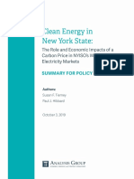 Carbon Tax Analysis Group NYISO Carbon Pricing Final Summary for Policymakers