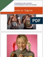 Alimentos vs Organos.