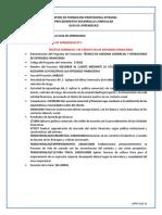 Guía 3. Politica Comercial y de Crédito en Las Entidades Financieras
