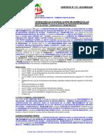 A.S. N° 008-2019-MDA-CS PRIMERA CONVOCATORIA CONT. N° 172-2019