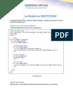 Ventana Modal en Bootstrap