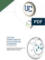 Guía evaluación desempeño