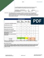 Organizador Guía DIAGNÓSTICO 6°A