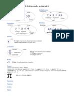 Lingua Della Matematica
