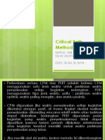 Critical Path Method (CPM)-SKB