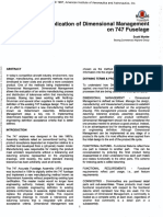 Application of Dimensional Management on 747 Fuselage