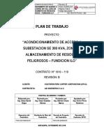 plan de trabajo electromecanico