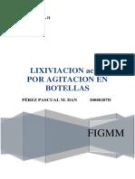 1er Informe Extractiva II 2015.1