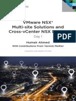 Vmware Multi Site Solutions Cross Vcenter Nsx Design Guide