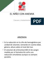 El Niño Con Anemia