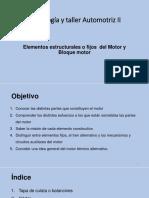 4ta Pr. Elementos Extructurales Fijo Del Motor Continuacion II
