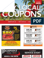 Coupon Book October 2019