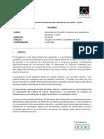 Diplomado en Derecho Ambiental para operadores de justicia - Loreto