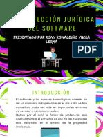 Diapositivas de La Proteccion Del Software de Rony