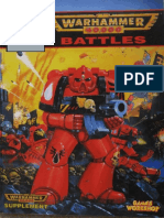 Every Battle Report WH40k 2nd edition