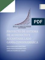 Proyección Sistema Acueducto y Alcantarillado
