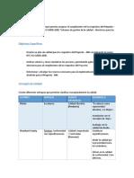 Plan de Calidad - NIH