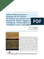 Historia de El Carmen de Bolívar