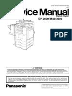 Panasonic 2000-2500-3000 Service Manual