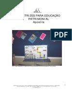 IEPHA-APOSTILA DE DIRETRIZES PARA EDUCAÇÃO  PATRIMONIAL-IEPHA-MG