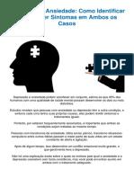 Como Controlar a Ansiedade e Prevenir a Depressao - PDF