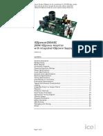 326 108 Icepower 200asc Class d Amp With Power Supply Module 1x200w Data Sheet