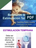 Beneficios estimulación temprana