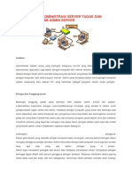 Materi ASJ KD 2 Memahami Tugas Dan Tanggung Jawab Admin Server