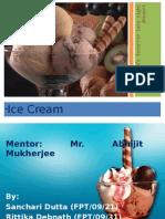 Final Presentation on Ice Cream.