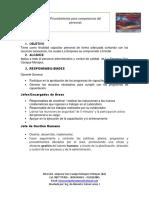 Evidencia AA8-3-1 Procedimiento Para Competencia Del Personal.