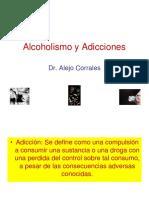 Adiccion y Alcoholismo - Dr Correles 2016