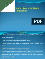 Entrevista, Semiología - Dra Hansen