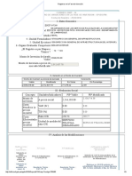 Registros en La Fase de Inversión