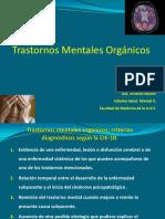 Trastornos Mentales Orgánicos - Dra Hansen