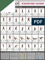 Bodyblade Exercise Guide Wallchart