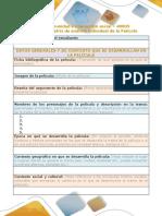 Presentación  matriz comparativa
