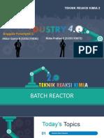 Reaktor Batch Isotermal dan Adiabatik