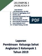 Lap PKL Kelompok 1 Angkatan v (3 September 2019)