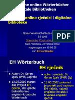 Skledar Kroatische Online Woerterbuecher