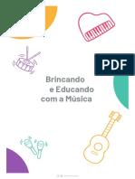 eBook Brincando e Educando Com a Musica