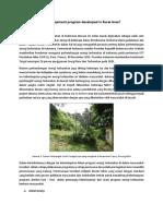 How Sustainable Development Program Developed in Rural Area