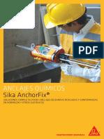 Anclajes Quimicos Sikaanchorfix 2018