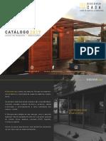 Catalogo casas madeira 2019