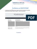 Plantilla Básica en Bootstrap