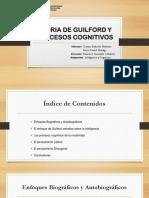 Teoria de Guilford y Procesos Cognitivos